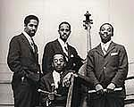 Modern Jazz Quartet MJQ with Kenny Clarke