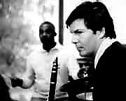 Jean-Christian Michel with Kenny Clarke