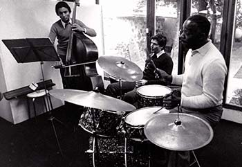 Jam session avec Kenny Clarke