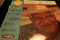 Sidney Bechet disques Vogue