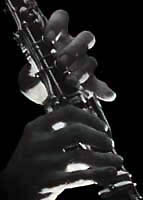 Fingers and clarinet