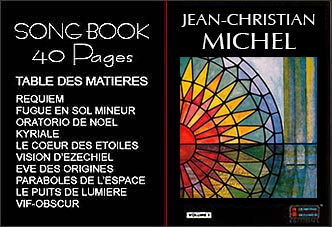 Song-book Jean-Christian Michel