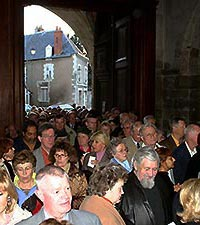 The concerts of Jean-Christian Michel are crowded