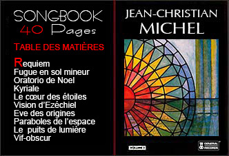 Songbook Jean-Christian Michel