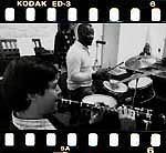 Jean-Christian Michel Kenny Clarke studio