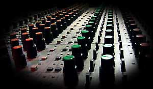 Studio enregistrement console